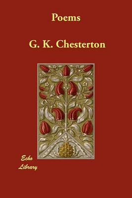 Poems - Chesterton, G. K.
